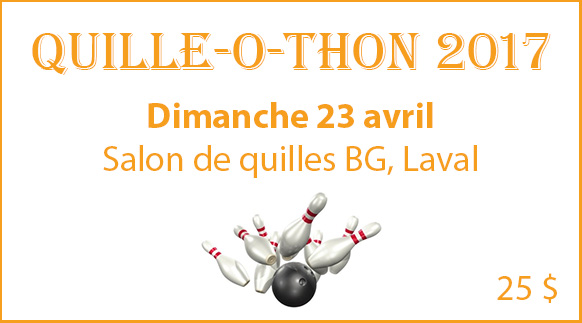 Quille-o-thon Laval 2017