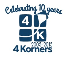4Korners_10 years logo