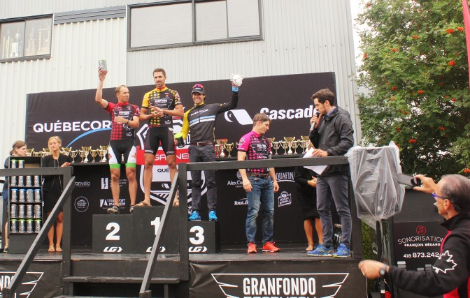 Alex Harvey-3e place au Granfondo 2016